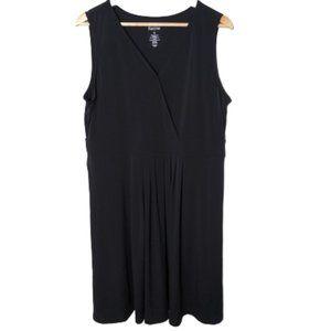 NWOT Croft & Barrow Black Formal Mini Dress XL